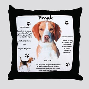 Beagle 1 Throw Pillow
