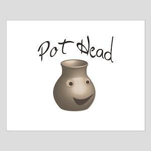Pot Head Small Poster