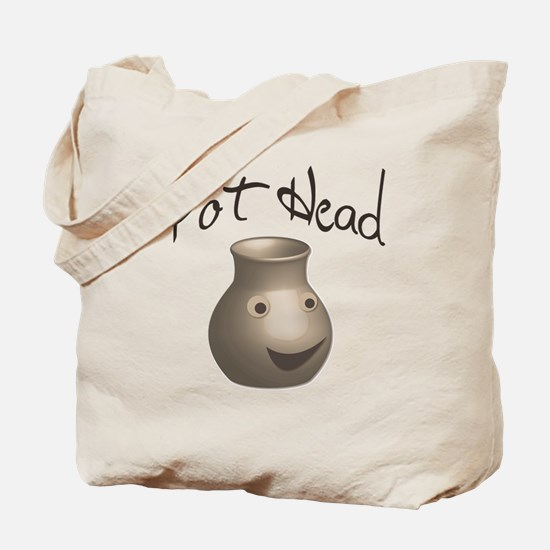 Pot Head Tote Bag