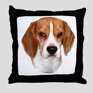 Beagle 2 Throw Pillow
