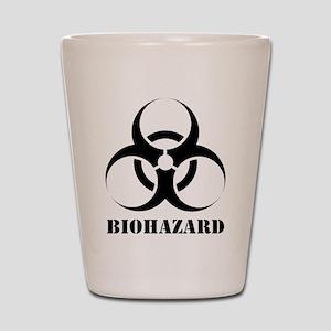 Biohazard Shot Glass