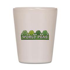 World Peas Shot Glass