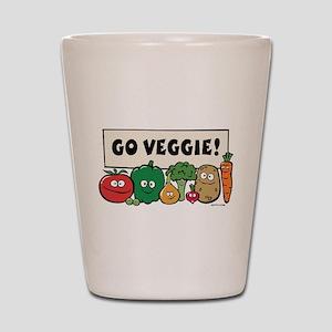 Go Veggie! Shot Glass