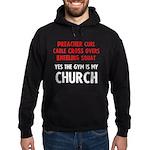 Gym is my Church Hoodie (dark)