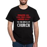 Gym is my Church Dark T-Shirt