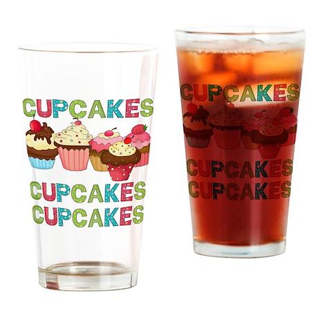 Cupcakes Cupcakes Cupcakes Pint Glass