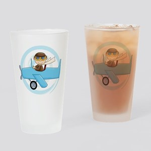 Boy Pilot Pint Glass