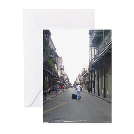 French Quarter Musician Greeting Cards (Pk of 20)