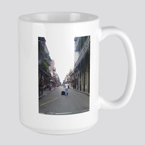 French Quarter Musician Large Mug