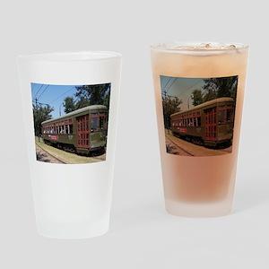 New Orleans Streetcar Pint Glass