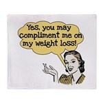 Compliment Weight Loss Throw Blanket