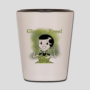 Glutton Free Humor Shot Glass