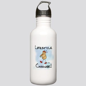 Peanut Lifestyle Change Stainless Water Bottle 1.0