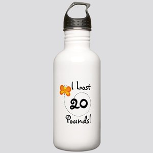 I Lost 20 Pounds Stainless Water Bottle 1.0L