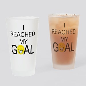 Reached My Goal Pint Glass