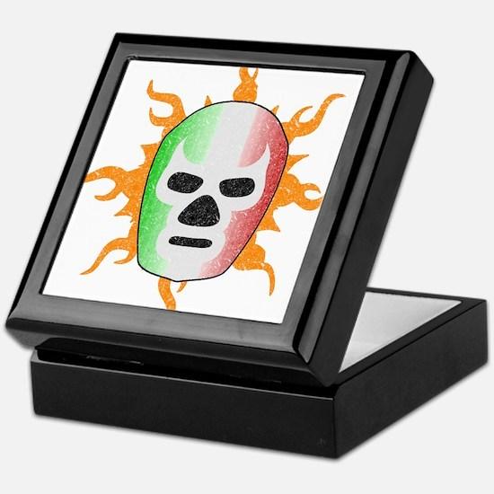 Mexican Lucha Libre Mask Keepsake Box