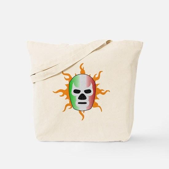 Mexican Lucha Libre Mask Tote Bag