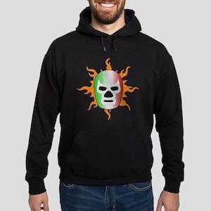 Mexican Lucha Libre Mask Hoodie (dark)
