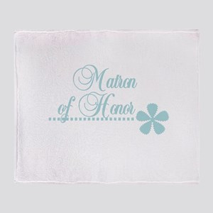 Matron of Honor Throw Blanket