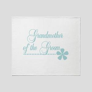 Grandmother of Groom Throw Blanket