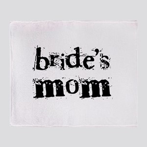 Bride's Mom Throw Blanket