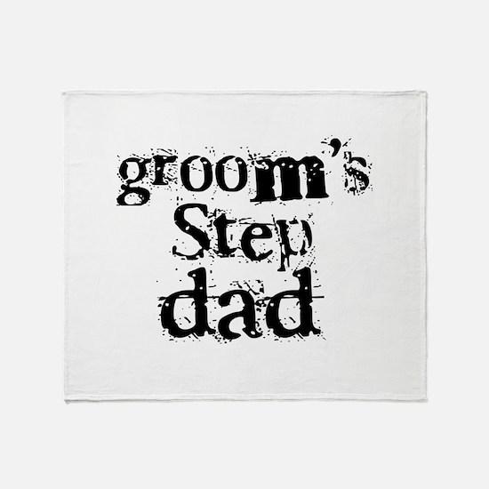 Groom's Step Dad Throw Blanket
