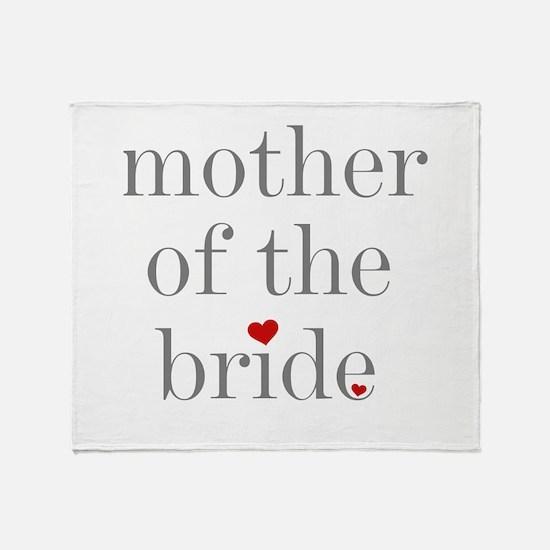 Unique Bridal party Throw Blanket