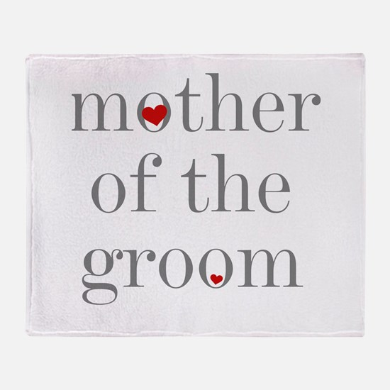 Mom bride Throw Blanket