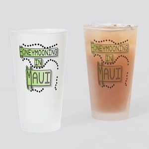 Green Honeymoon Maui Pint Glass