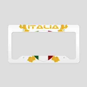Italia Shield License Plate Holder