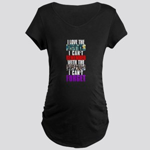 NIGHTS I CAN'T REMEMBER Maternity Dark T-Shirt