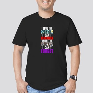 NIGHTS I CAN'T REMEMBER Men's Fitted T-Shirt (dark
