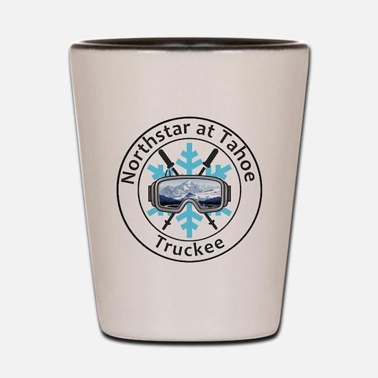 Cute Truckee california Shot Glass