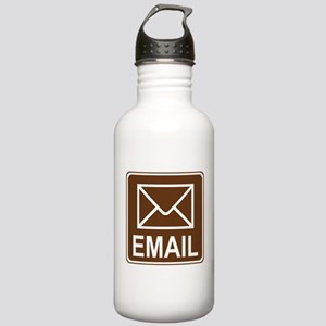Email Sign Stainless Water Bottle 1.0L