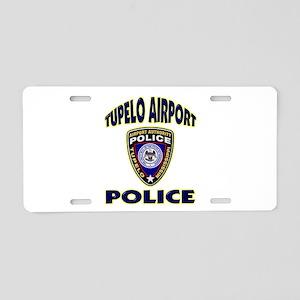 Tupelo Airport Police Aluminum License Plate