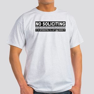 No Soliciting Light T-Shirt