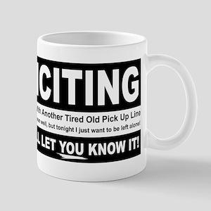 No Soliciting Mug
