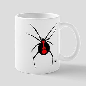 Ukulele Spider Mug