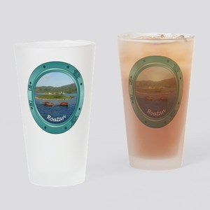 Roatan Porthole Pint Glass