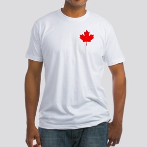 Alberta Flag Fitted T-Shirt