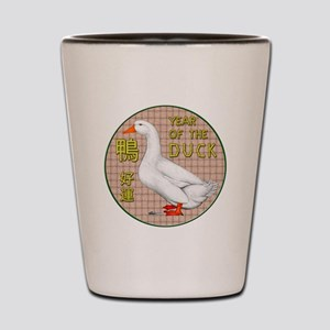 Year of the Duck Shot Glass