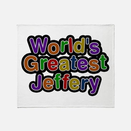 World's Greatest Jeffery Throw Blanket