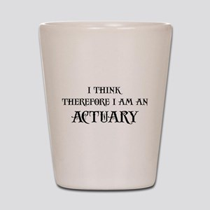 Think Actuary Shot Glass