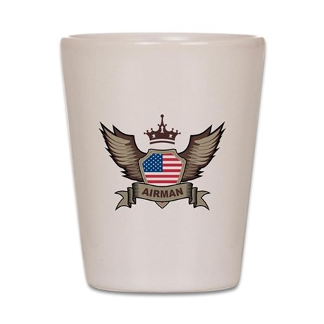 American Airman Shot Glass