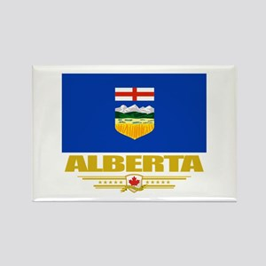 Alberta Pride Rectangle Magnet