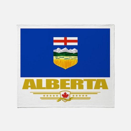 Alberta Pride Throw Blanket