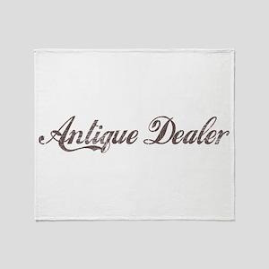 Vintage Antique Dealer Throw Blanket