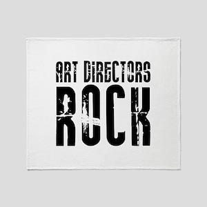 Art Directors Rock Throw Blanket