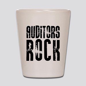 Auditors Rock Shot Glass