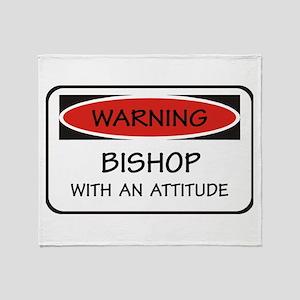 Attitude Bishop Throw Blanket
